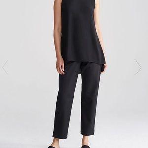 Eileen Fisher Slim ankle pant Black denim size 2X